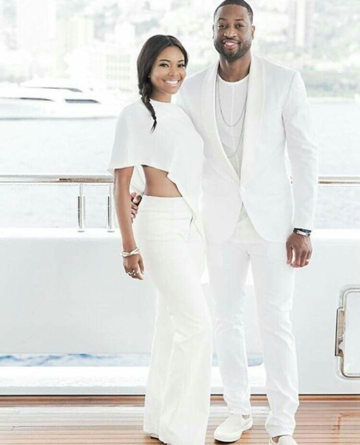 Gabrielle Union And Husband Looking Fab In All White (Photos)