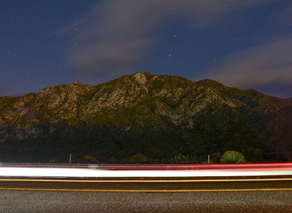 San Gabriel Mountains, Los Angeles, CA.