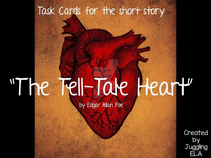 the lottery and the tell tale heart Everything you need to know about the writing style of edgar allan poe's the tell-tale heart, written by experts with you in mind.
