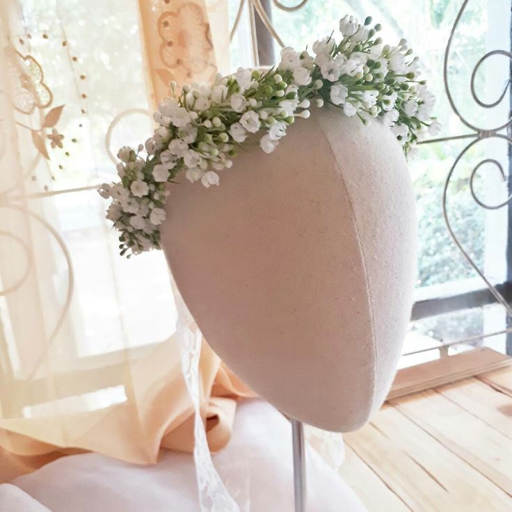Flower crown Baby breath crown