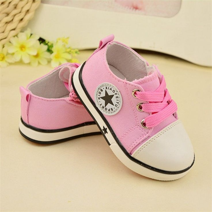 Cute Unisex Breathable Canvas Sneakers Shoes 0-3 Years Old – BABY OBSESSIONS