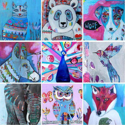 Folt Bolt - the colorful art palette | Eleni Kastrinogianni - Coocoovaya