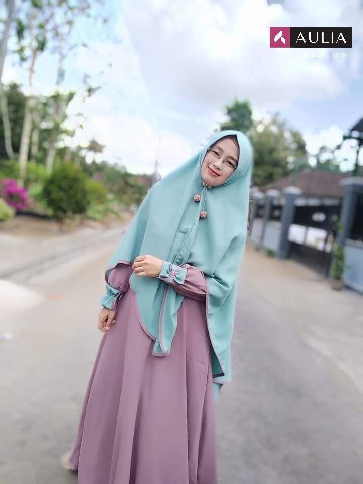 Gamis Aulia Fashion Helena Set Model Pakaian Hijab Gaya Hijab Model Pakaian Muslim