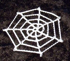 Crochet Spiders Web