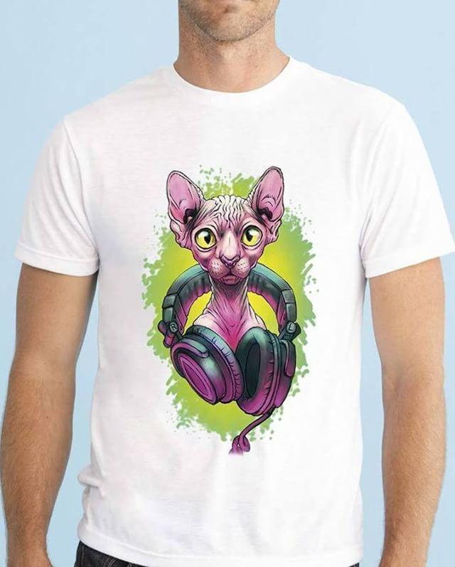 https://www.navdari.com/products-m00438-DJSPHYNXCATPINKBLACKANDGREENTSHIRTDESIGN.html #dj #music #cat #pink #sphynx #nohair #TSHIRT #CLOTHING #Men #NAVDARI