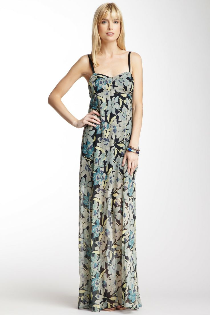 Charlotte Ronson Maxi Slip Silk Dress on HauteLook