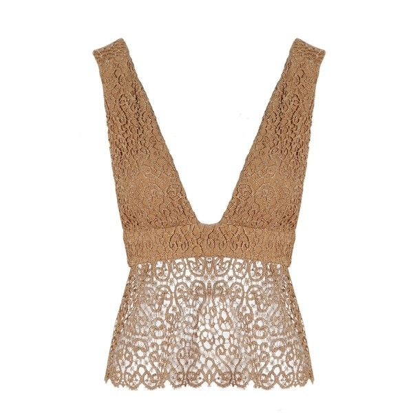Related Tate Bralet (€21) ❤ liked on Polyvore featuring tops, gold top, bralette tops, bralet tops, gold sparkly top and sparkly tops