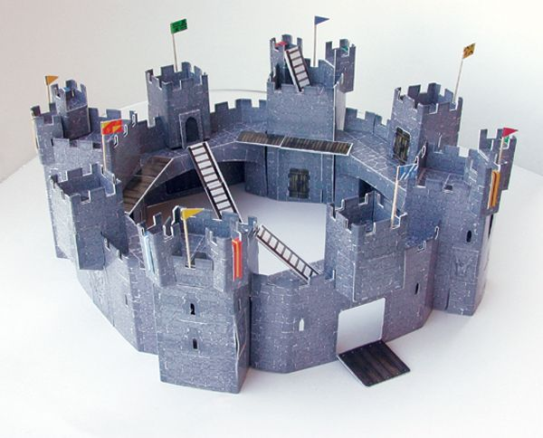 600 484 diy projects cardboard for Castle made out of cardboard boxes