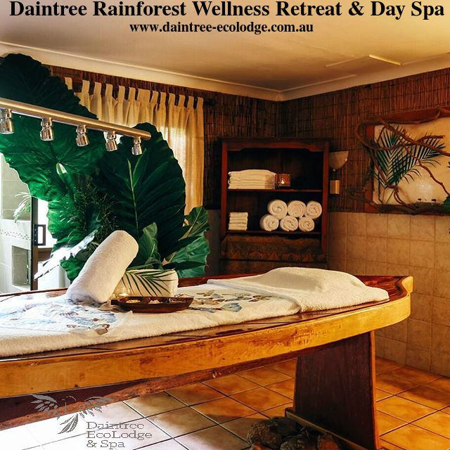 Welcome to Daintree EcoLodge's Wellness Day Spa & Retreat in QLD. It's a mind, body and soul experience. Here you can indulge in paradise in the rainforest hideaway. For more details visit: http://www.daintree-ecolodge.com.au/indulge/