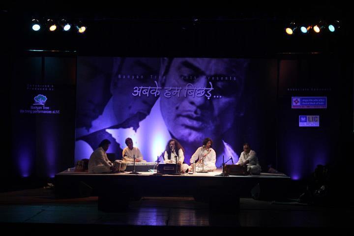 Tribute to Mehdi Hasan at #Ravindra Natya Mandir