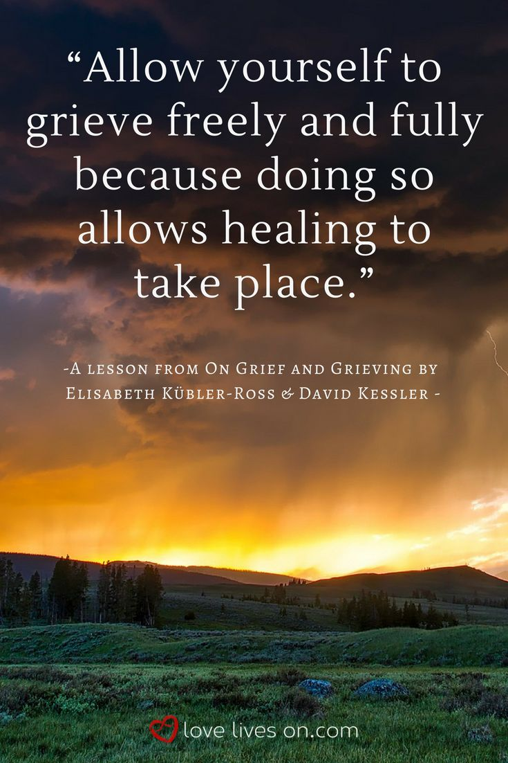 Grief Definitions | A Lesson from On Grief and Grieving: Allow yourself to grieve freely & fully. This is how you heal. Click for more information on the different ways we define and experience grief.