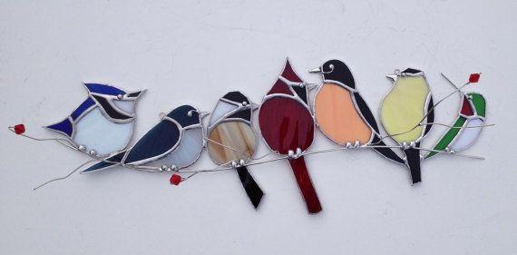Favorite backyard birds Canadian Bird gang  by seasonaltreasures