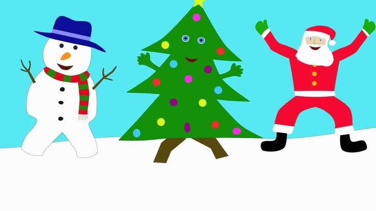 The Dancing Christmas Tree Song - so cute! @Jenn L Rose your kids might like this for a brain break this month?!