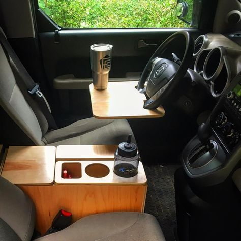 """439 To se mi líbí, 15 komentářů – Fifth Element Camping (@fifthelementcamping) na Instagramu: """"Center Console & Wheel Tray ••••• One of Four components available for the Honda Element Micro…"""""""
