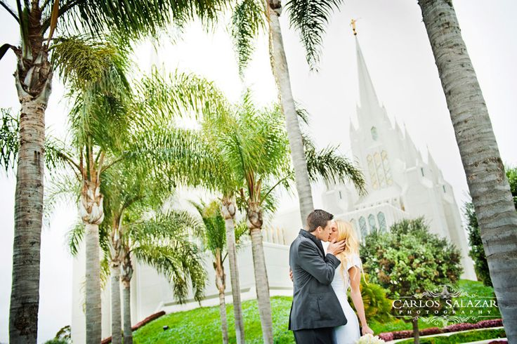 Lds Wedding Dresses San Diego : San diego temple wedding on lds and angles