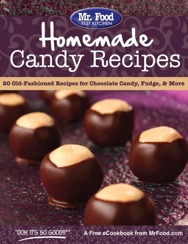 Homemade Candy Recipes: 20 Old-Fashioned Recipes for Chocolate Candy, Fudge, & More - Get ready for all of your potluck events with our favorite homemade candy recipes!
