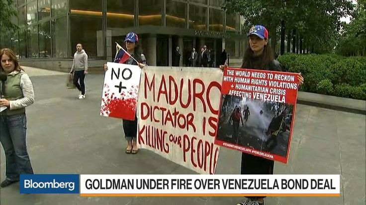 Goldman Sachs Group Inc. faces a probe by Venezuela's opposition leaders after buying bonds issued in 2014 by the state oil company, a purchase some lawmakers said bolsters President Nicolas Maduro as he grapples with accusations of human-rights violations.
