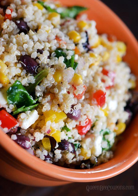 -see Southwest Quinoa Salad Pins | Quinoa salad, Mexican quinoa salad ...