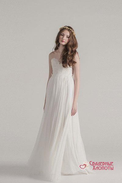 Свадебное платье от дизайнера брайтон