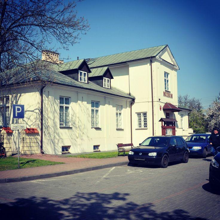 Łuków. Konwikt Szaniawskich, obecnie siedziba Muzeum Regionalnego.