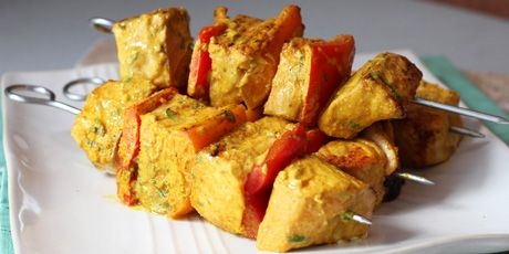 Salmon Tikka by Bal Arneson from the Food Network Fire up the grill ...