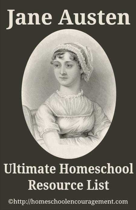 Jane Austen Ultimate Homeschool Resource List - Copywork, Unit Studies, Videos, Books, Audios, Apps, and more!  Everything to #homeschool #janeausten