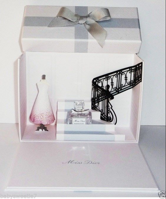 Christian Dior Miss Dior Blooming Bouquet EDT Coffret 5ml Miniature Gift BOX | eBay