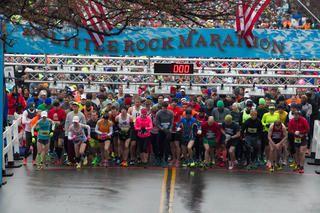 Little Rock Marathon http://www.runnersworld.com/bucket-list-races/bucket-list-10-great-marathons-for-first-timers/little-rock-marathon