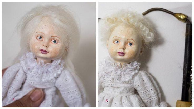 В представленном мастер-классе мы будем создавать куклу из готового набора деталей, она будет ростом 20 см. Мы пройдем такие этапы: 1) Создание тела куклы. 2) Роспись кукольной заготовки. 3) Стыковка керамических деталей к телу куклы. 4) Пошив панталон и платья для куклы. 5) Формирование кукольной прически. 6) Работа над кукольными аксессуарами — веночек и ангельские крылья. 1.