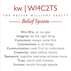 The Keller Williams Belief System