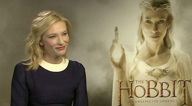 Cate Blanchett The Hobbit | Peri Cantik 'The Hobbit' Menjelma Jadi Sutradara