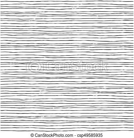 Vector - Seamless pattern with hand drawn lines