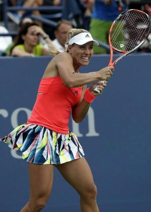 9/4/16 Angelique Kerber defeats Petra Kvitova 6-3, 7-5, advances to QFs at US Open.