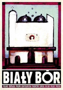 Biały Bór, Hommage a Nowosielski, polski plakat turystyczny