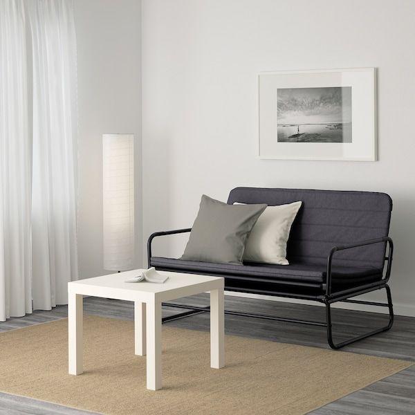 Hammarn Futon Knisa Dark Gray Black Ikea In 2020 Most Comfortable Sofa Bed Comfortable Sofa Bed Small Sofa Bed