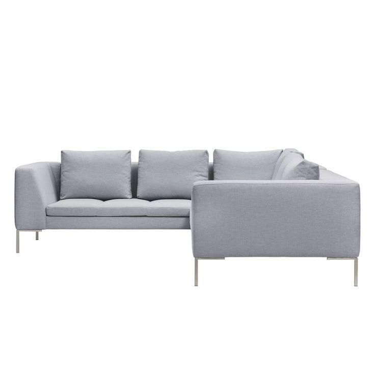 Chesterfield ecksofa stoff  Die besten 25+ Sofa hellgrau Ideen auf Pinterest | Couch 2 sitzer ...