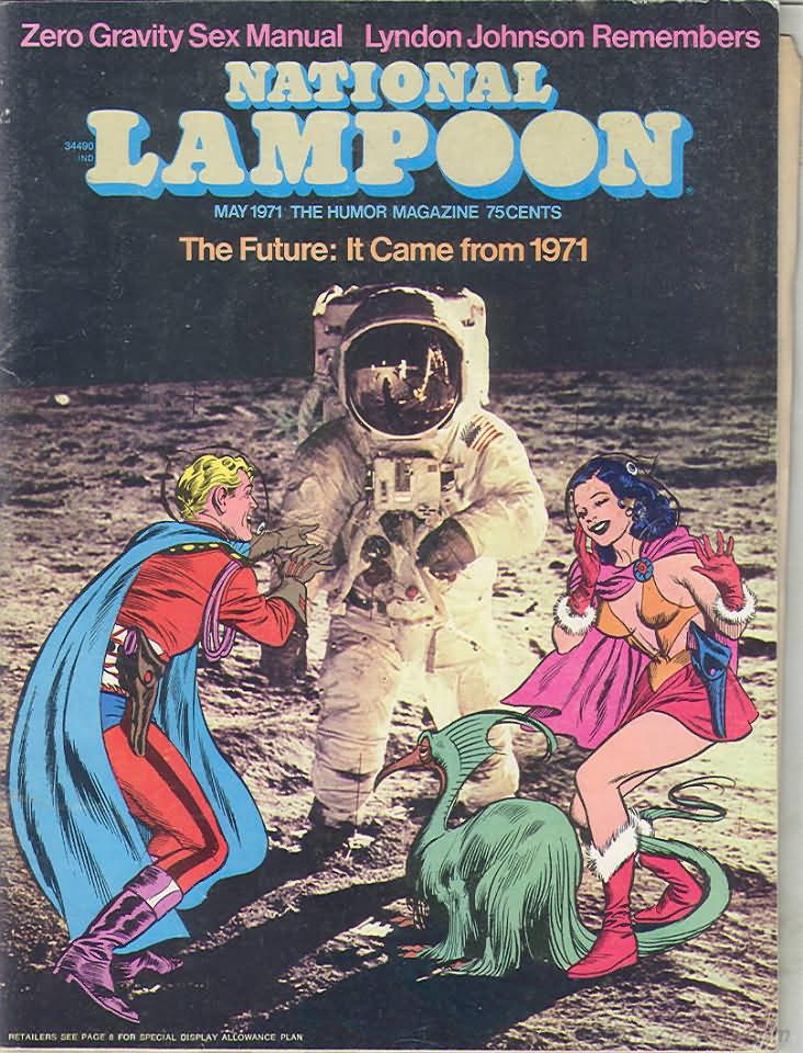 National Lampoon #14 May 1971