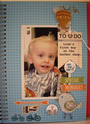Life in Details Challenge Blog: April Smash Book Challenge: It's all about the firsts!