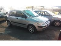 2003 HYUNDAI GETZ 1.6 WITH AIRCON AND POER STEERING. VEHICLE IN EXCELLENT CONDITION. LOW ON FUEL AND MAINTENANCE COSTS. FOR MORE INFO CONTACT ALICE ON 0837243137