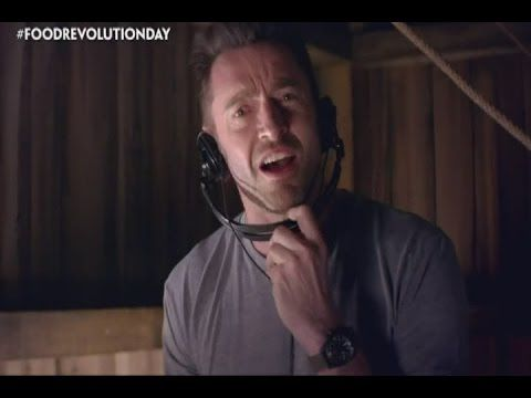 Ed Sheeran and Hugh Jackman support Jamie Oliver for Food Revolution Day  #Miles7one