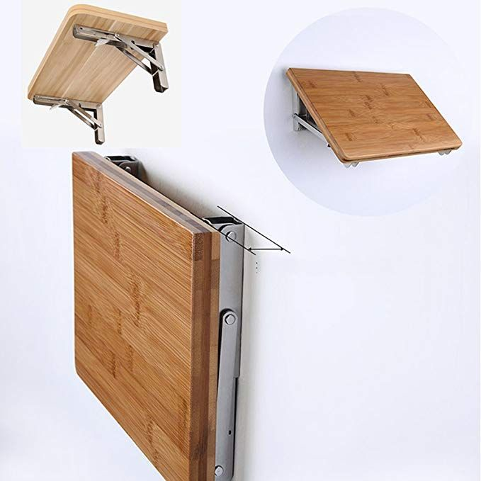 Amazon Com Folding Shelf Brackets Claiery Polished Stainless