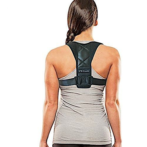 Back Posture Brace Corrector for Women, Men and Teens. Provides Lower Back Support, Shoulder Support, and Clavicle Support. Improves Bad Posture, Slouching and Upper Back Pain by J*B GOODS #Back #Posture #Brace #Corrector #Women, #Teens. #Provides #Lower #Support, #Shoulder #Clavicle #Support. #Improves #Posture, #Slouching #Upper #Pain #GOODS