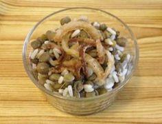 Le riz au lentilles, une grande spécialité de la cuisine libanaise.