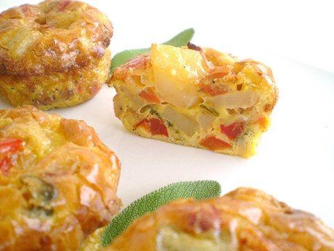 Овощные кексы — оригинальная, красивая и вкусная закуска по-быстрому