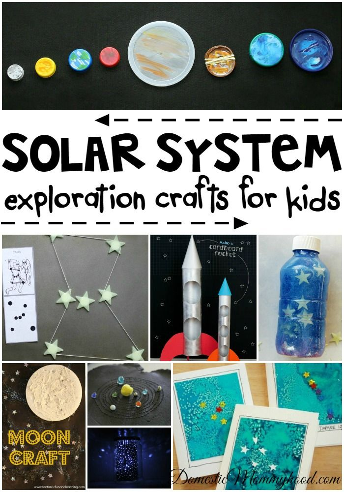 Solar System Crafts For Kids Ways To Make Learning Fun