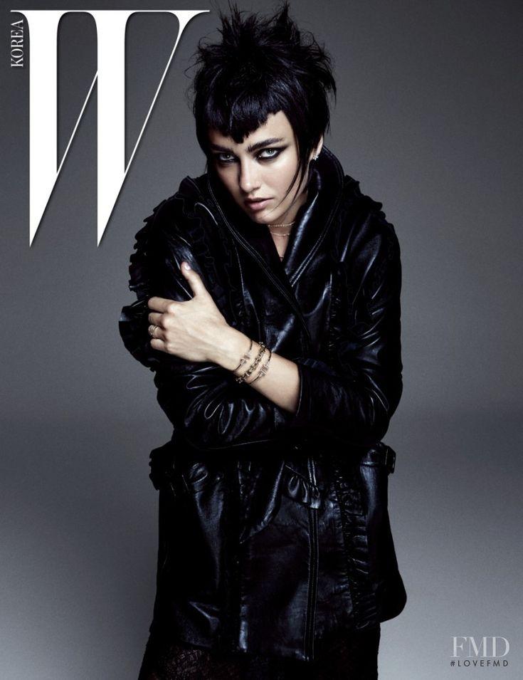 Karmen Pedaru in W Korea with Karmen Pedaru - (ID:35920) - Fashion Editorial   Magazines   The FMD #lovefmd