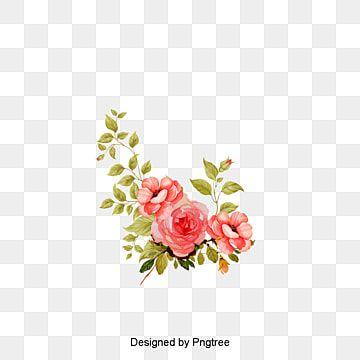 Gambar Bahan Vektor Bunga Bahan Vektor Bunga Hijau Bunga Png Transparan Clipart Dan File Psd Untuk Unduh Gratis Watercolor Flower Vector Flower Vector Art Watercolor Flower Background