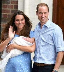 Kate and William leave From the hospital with son