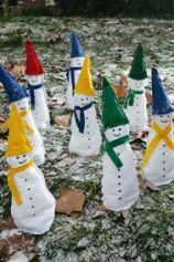 Landlust - Schneemänner aus Filz
