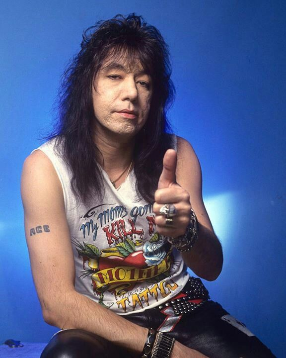 Kiss Band Without Makeup: 17 Best Images About ACE FREHLEY 1983-1995 On Pinterest